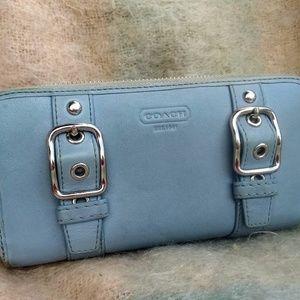 COACH a cordian style wallet organizer clutch